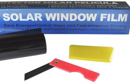 Folia do przyciemniania szyb termokurczliwa - Light Light Black 45% przyciemnienia, 300x75cm