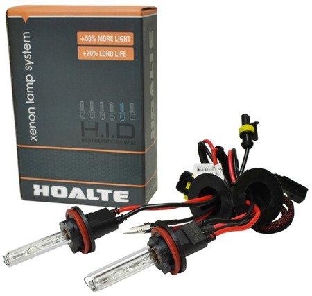 Komplet żarników xenon H11 / H8 / H9 6000K
